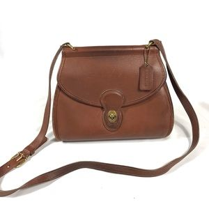 Vintage Coach Crossbody Bag